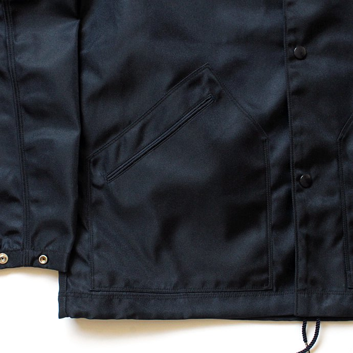 134731174 blurhms / Heavy Nylon Twill Coaches Jacket - Navy BHS-18AW014<img class='new_mark_img2' src='//img.shop-pro.jp/img/new/icons47.gif' style='border:none;display:inline;margin:0px;padding:0px;width:auto;' /> 02