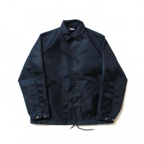 blurhms / Heavy Nylon Twill Coaches Jacket - Navy BHS-18AW014<img class='new_mark_img2' src='//img.shop-pro.jp/img/new/icons47.gif' style='border:none;display:inline;margin:0px;padding:0px;width:auto;' />