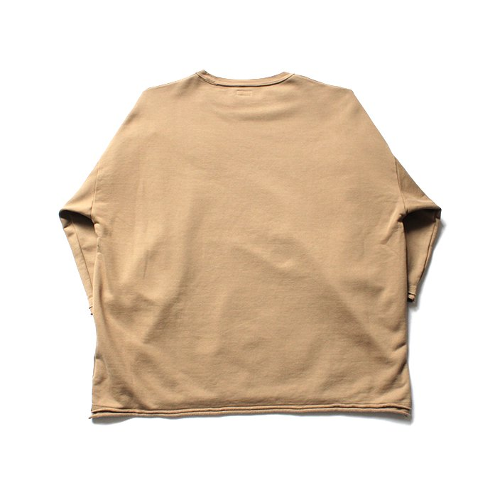 135104566 blurhms / High Density Sweat Cut-Off P/O BHS-18AW022 - Beige 02