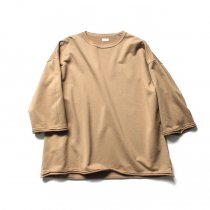 blurhms / High Density Sweat Cut-Off P/O BHS-18AW022 - Beige