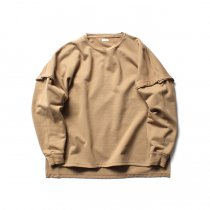 blurhms / High Density Sweat Layer Sleeve P/O BHS-18AW023 - Beige