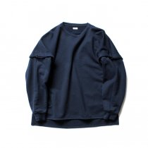 blurhms / High Density Sweat Layer Sleeve P/O BHS-18AW023 - Navy