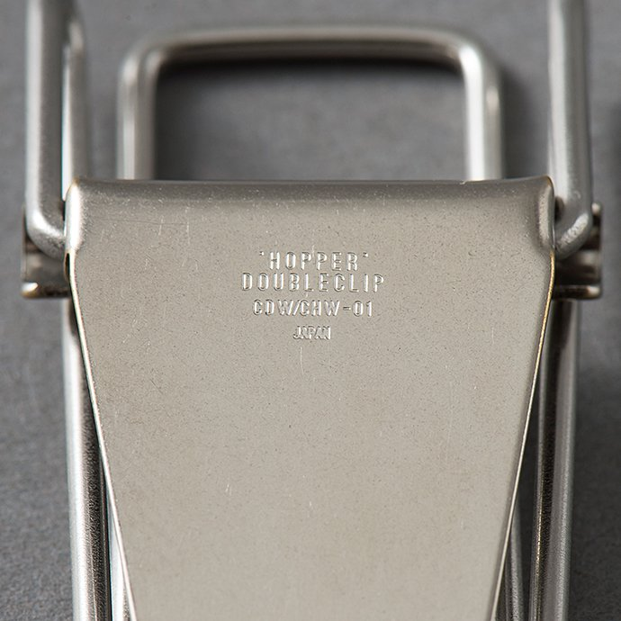 135274872 CANDY DESIGN & WORKS / Hopper Double Clip CHW-01 ホッパー ダブルクリップ - Nickel 02