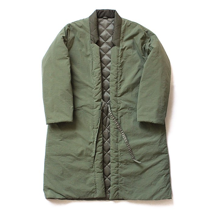 blurhms / Reversible Haori Coat - Olive BHS-18AW018<img class='new_mark_img2' src='//img.shop-pro.jp/img/new/icons20.gif' style='border:none;display:inline;margin:0px;padding:0px;width:auto;' />