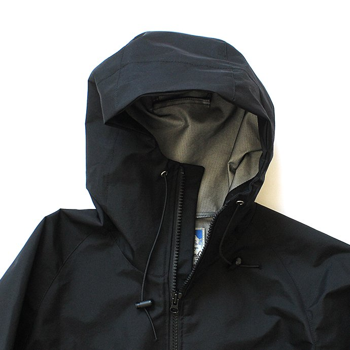 135572409 Powderhorn Mountaineering / M. Hoody ナイロンハードシェルパーカー PH18AW-001 - Black 02