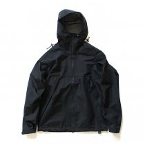 Powderhorn Mountaineering / M. Hoody ナイロンハードシェルパーカー PH18AW-001 - Black