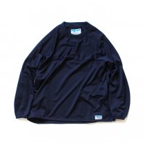 Powderhorn Mountaineering / Easy Jersey Crew ジャージー クルーネックプルオーバー PH18AW-007 - Navy