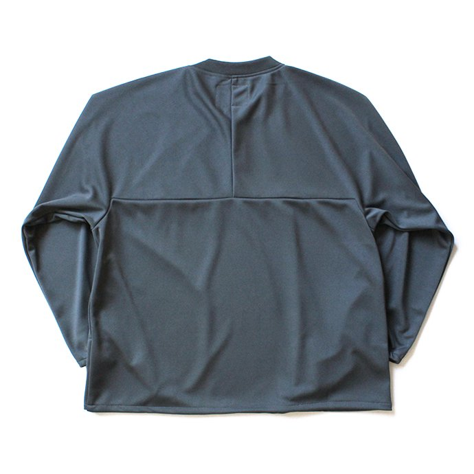 135572892 Powderhorn Mountaineering / Easy Jersey Crew ジャージー クルーネックプルオーバー PH18AW-007 - Grey 02