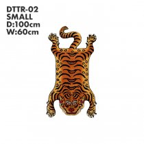 Tibetan Tiger Rug チベタンタイガーラグ DTTR-02 Sサイズ<img class='new_mark_img2' src='//img.shop-pro.jp/img/new/icons47.gif' style='border:none;display:inline;margin:0px;padding:0px;width:auto;' />