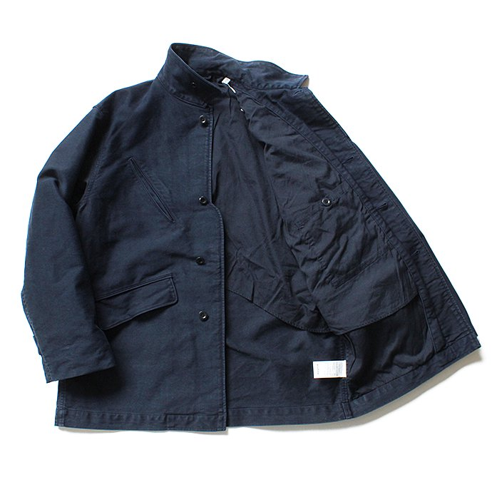 135745054 blurhms / Extra Heavy Cotton Moleskin Jacket BHS-18AW011 - Navy 02