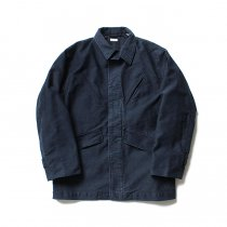 blurhms / Extra Heavy Cotton Moleskin Jacket BHS-18AW011 - Navy
