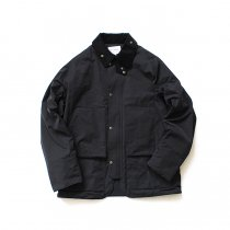 STILL BY HAND / BL0483 シンサレート中綿入り 撥水ショートブルゾン - Black<img class='new_mark_img2' src='//img.shop-pro.jp/img/new/icons47.gif' style='border:none;display:inline;margin:0px;padding:0px;width:auto;' />