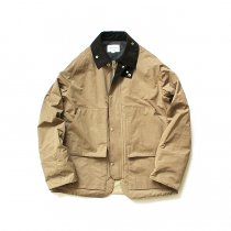 STILL BY HAND / BL0483 シンサレート中綿入り 撥水ショートブルゾン - Beige<img class='new_mark_img2' src='//img.shop-pro.jp/img/new/icons47.gif' style='border:none;display:inline;margin:0px;padding:0px;width:auto;' />