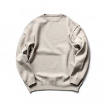 crepuscule / milano rib crewneck P/O ミラノリブニット クルーネックプルオーバー 1803-009 - Beige<img class='new_mark_img2' src='//img.shop-pro.jp/img/new/icons47.gif' style='border:none;display:inline;margin:0px;padding:0px;width:auto;' />