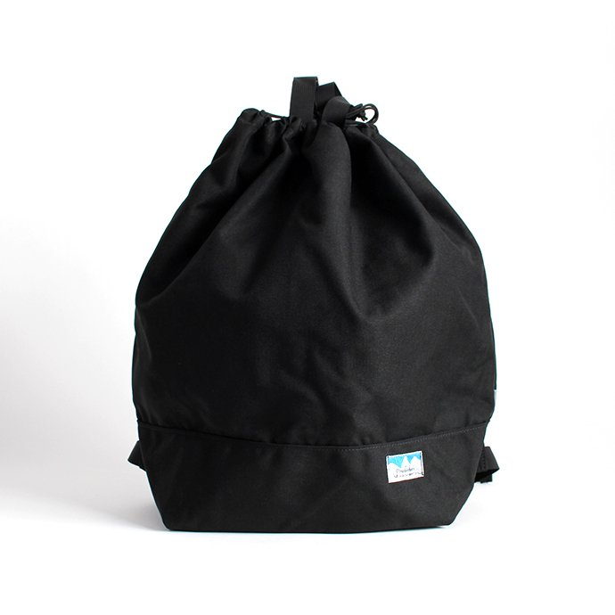 136189554 Powderhorn Mountaineering / P.H. DS Pack ドローストリングバックパック PHB-003 - Black 01