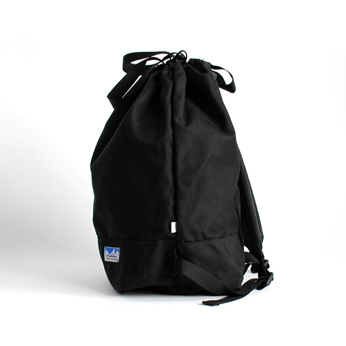 136189554 Powderhorn Mountaineering / P.H. DS Pack ドローストリングバックパック PHB-003 - Black 02