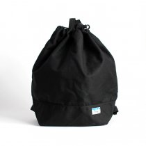 Powderhorn Mountaineering / P.H. DS Pack ドローストリングバックパック PHB-003 - Black