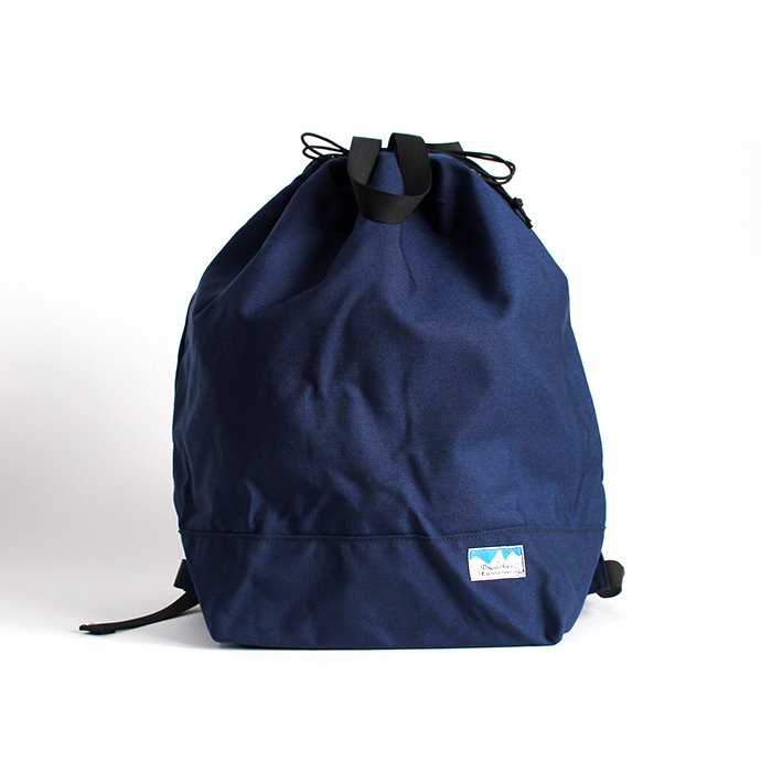 136189592 Powderhorn Mountaineering / P.H. DS Pack ドローストリングバックパック PHB-003 - Navy 01