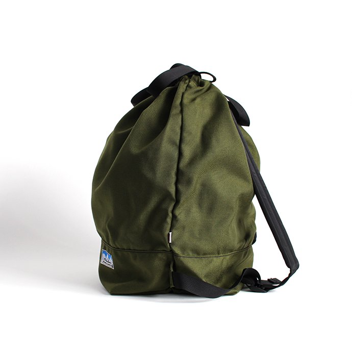 136189643 Powderhorn Mountaineering / P.H. DS Pack ドローストリングバックパック PHB-003 - Olive 02