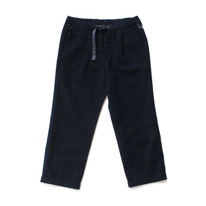 O-(オー)/ 19W-07 EASY TROUSERS moleskin イージートラウザーズ モールスキン - Black<img class='new_mark_img2' src='//img.shop-pro.jp/img/new/icons20.gif' style='border:none;display:inline;margin:0px;padding:0px;width:auto;' />