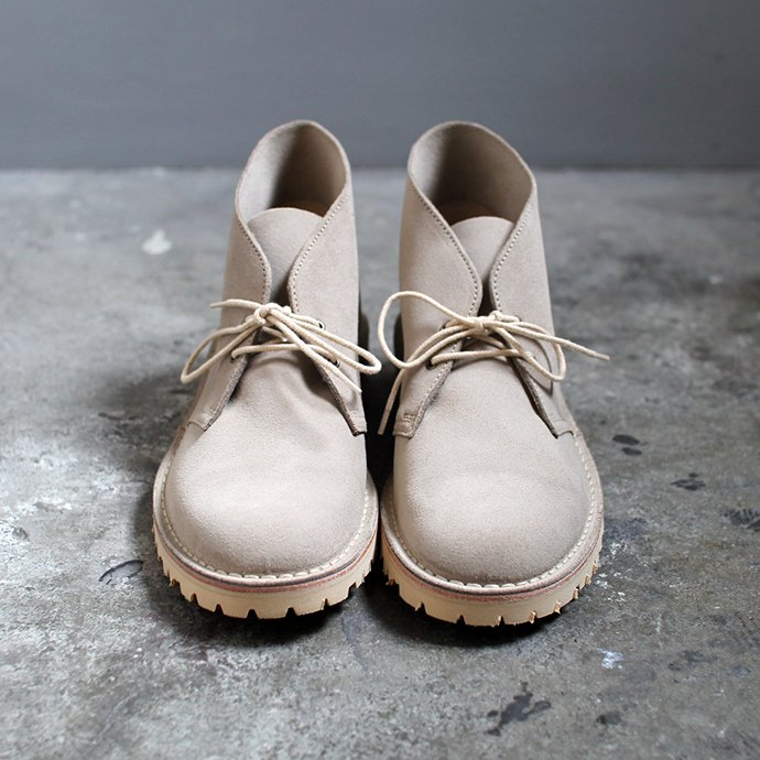 137148358 Suffolk Shoes / Desert Boots - Sand Suede デザートブーツ 02