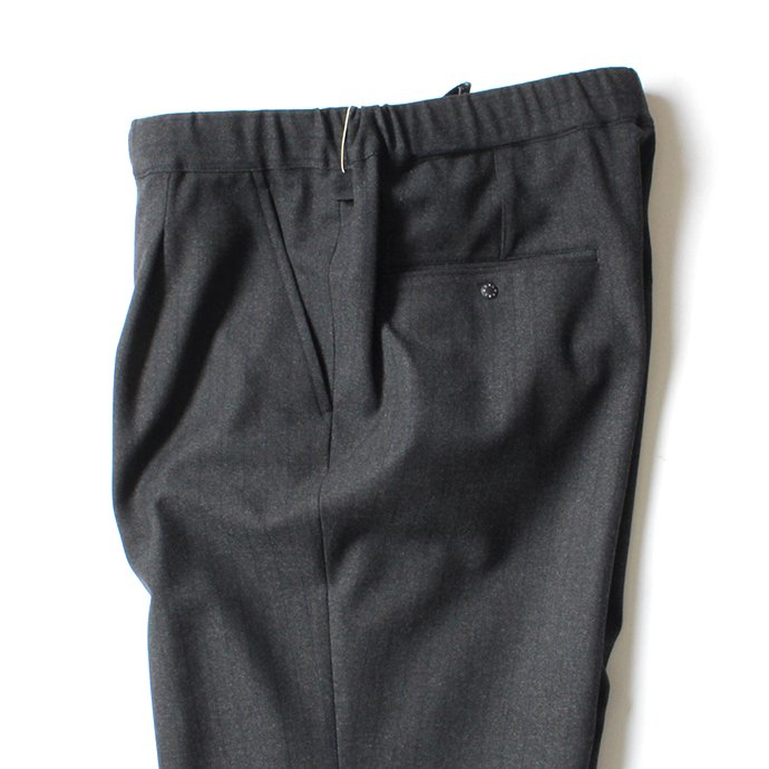 137338817 O-(オー)/ 19W-09 EASY TROUSERS イージートラウザーズ - Navy Stripe 02