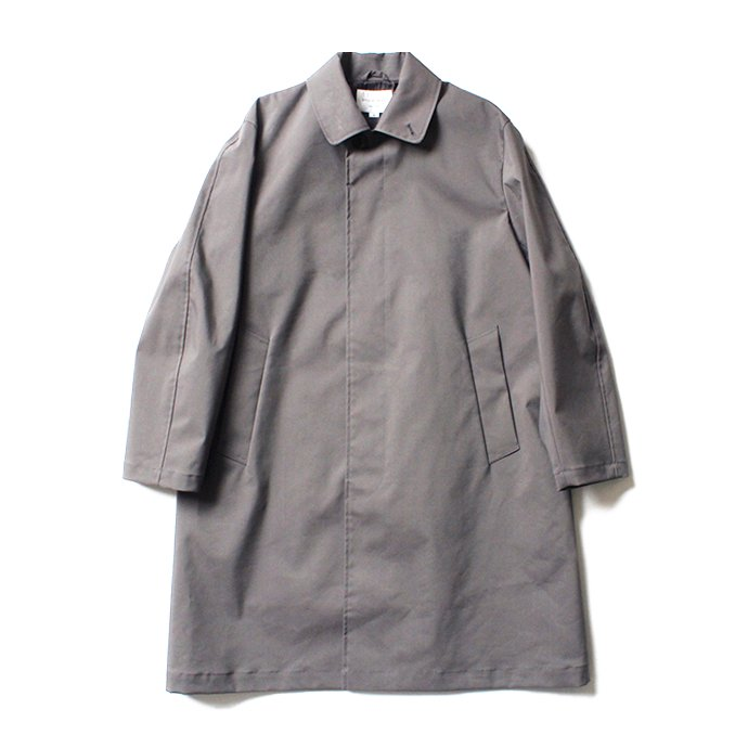 138568829 STILL BY HAND / CO0384 ボンディング素材 ステンカラーコート - Grey<img class='new_mark_img2' src='//img.shop-pro.jp/img/new/icons20.gif' style='border:none;display:inline;margin:0px;padding:0px;width:auto;' /> 01