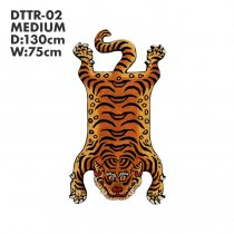 Tibetan Tiger Rug チベタンタイガーラグ DTTR-02 Mサイズ<img class='new_mark_img2' src='//img.shop-pro.jp/img/new/icons47.gif' style='border:none;display:inline;margin:0px;padding:0px;width:auto;' />