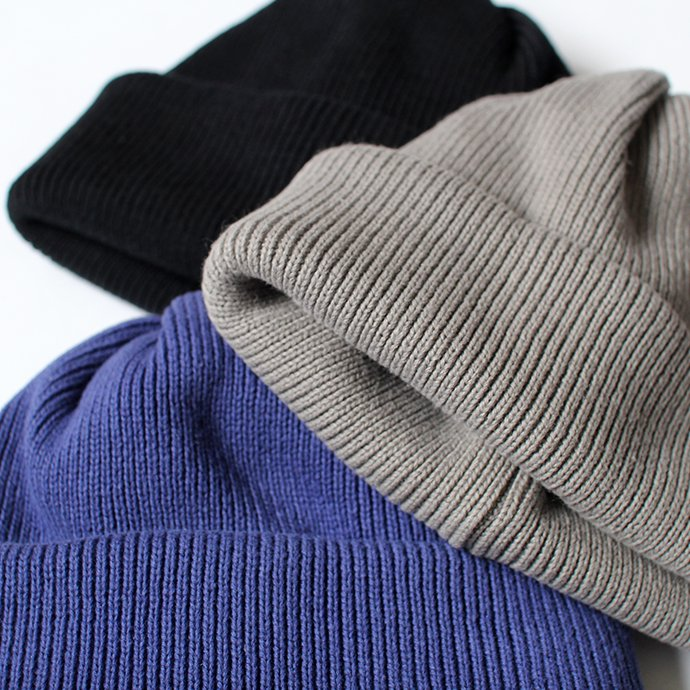 140041523 crepuscule / knit cap 2 1901-009 Gray ニットキャップ グレー 02