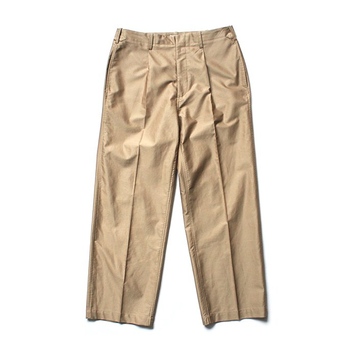 141066020 blurhms / Light Reversed Satin Slacks BHS-19SS015 - Beige 01