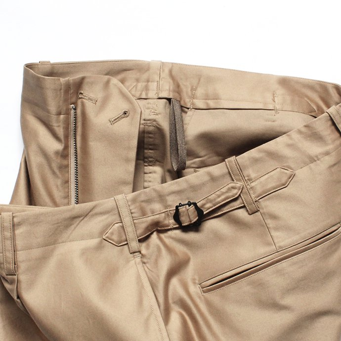 141066020 blurhms / Light Reversed Satin Slacks BHS-19SS015 - Beige 02