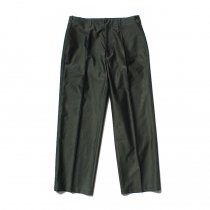 blurhms / Light Reversed Satin Slacks BHS-19SS015 - Deep Olive