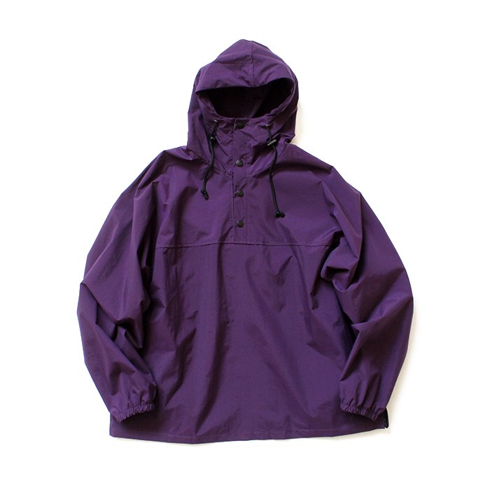 Powderhorn Mountaineering / P.H. Pull ナイロンプルオーバーアノラック PH19SS-003 - Purple<img class='new_mark_img2' src='//img.shop-pro.jp/img/new/icons47.gif' style='border:none;display:inline;margin:0px;padding:0px;width:auto;' />