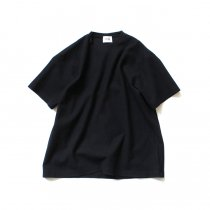 blurhms ROOTSTOCK / New Rough & Smooth Thermal Box Tee BHS-RKSS19028 - Black