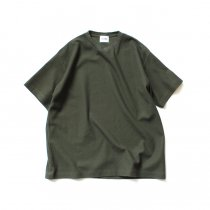 blurhms ROOTSTOCK / New Rough & Smooth Thermal Box Tee BHS-RKSS19028 - Olive
