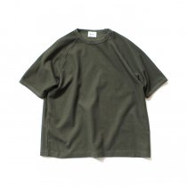 blurhms ROOTSTOCK / New Rough & Smooth Thermal Raglan Tee BHS-RKSS19008 - Olive