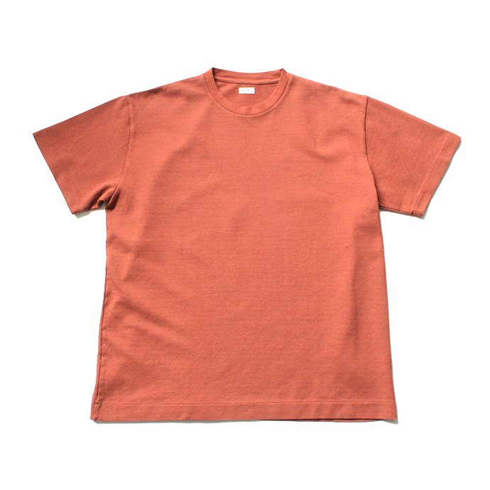 141547680 blurhms / Seed Stitch Box Tee BHS-19SS025-SED - Ash Orange<img class='new_mark_img2' src='//img.shop-pro.jp/img/new/icons20.gif' style='border:none;display:inline;margin:0px;padding:0px;width:auto;' /> 01