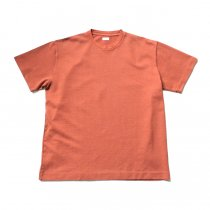 blurhms / Seed Stitch Box Tee BHS-19SS025-SED - Ash Orange
