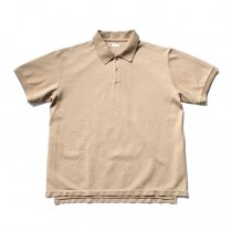 blurhms / Seed Stitch Polo Shirt BHS-19SS030 - Light Beige<img class='new_mark_img2' src='//img.shop-pro.jp/img/new/icons47.gif' style='border:none;display:inline;margin:0px;padding:0px;width:auto;' />