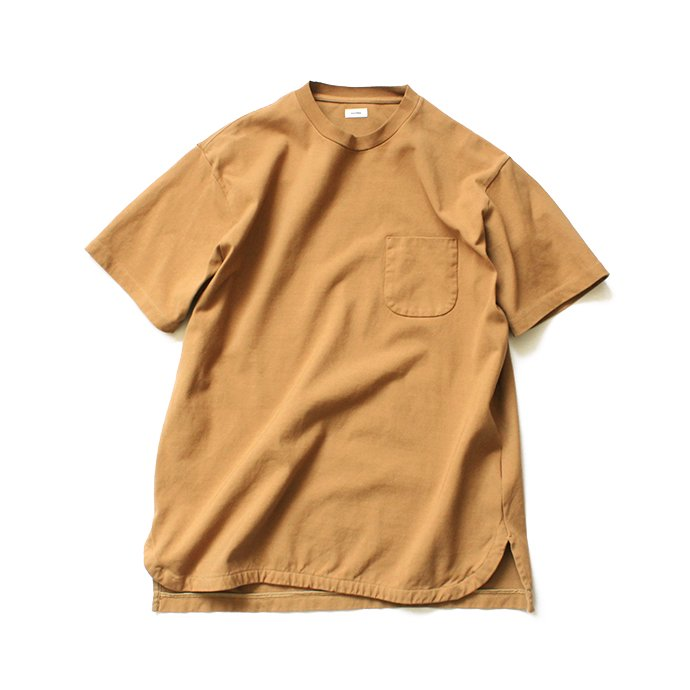 141608615 blurhms / Super Hard Twisted Pocket Long Tee BHS-19SS028 - Camel 01