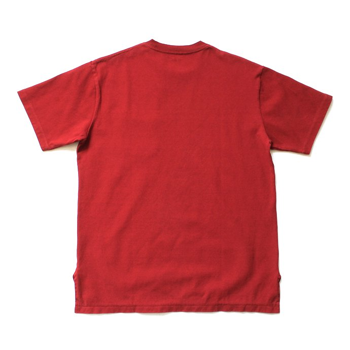 141608619 blurhms / Super Hard Twisted Pocket Long Tee BHS-19SS028 - Deep Red 02