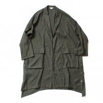 THEE(シー)/ oversize gown PV-SH-03 オーバーサイズガウン Khaki