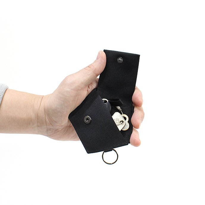 142174741 WERDENWORKS / KEY CASE - Black 02