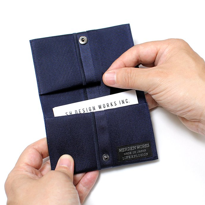 143426843 WERDENWORKS / BIZ CARD CASE - Navy 02