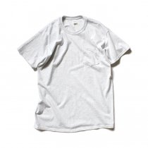 GILDAN / 2300 6.0oz Ultra Cotton Short Sleeve Pocket T-Shirt ウルトラコットン半袖ポケットTシャツ - Ash Grey