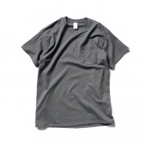GILDAN / 2300 6.0oz Ultra Cotton Short Sleeve Pocket T-Shirt ウルトラコットン半袖ポケットTシャツ - Charcoal