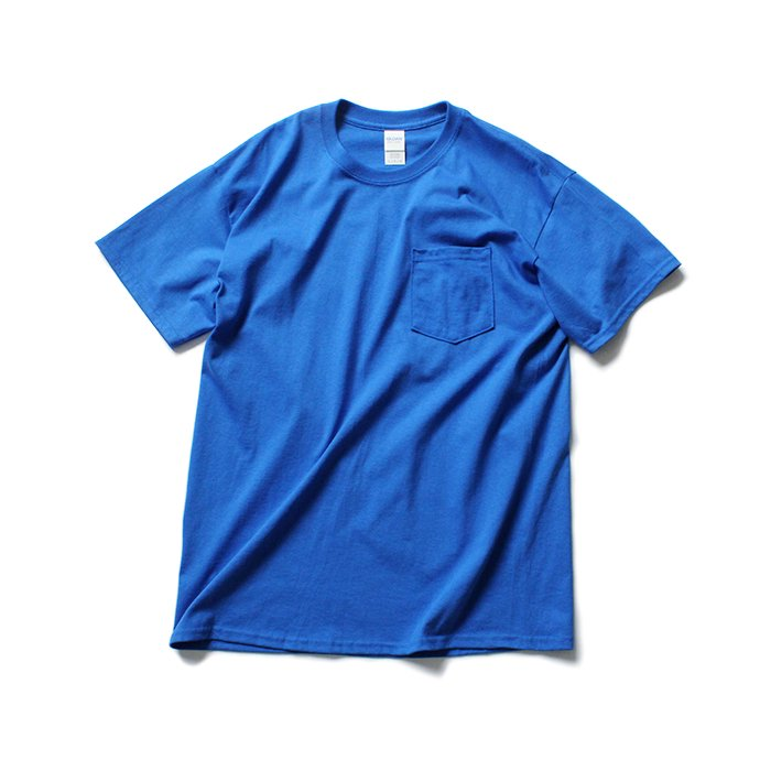 144311852 GILDAN / 2300 6.0oz Ultra Cotton Short Sleeve Pocket T-Shirt ウルトラコットン半袖ポケットTシャツ - Royal 01