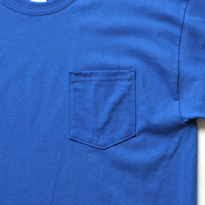144311852 GILDAN / 2300 6.0oz Ultra Cotton Short Sleeve Pocket T-Shirt ウルトラコットン半袖ポケットTシャツ - Royal 02
