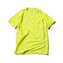 GILDAN / 2300 6.0oz Ultra Cotton Short Sleeve Pocket T-Shirt ウルトラコットン半袖ポケットTシャツ - Safety Green
