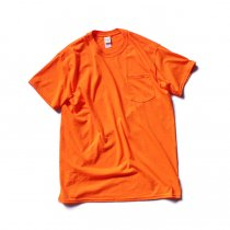 GILDAN / 2300 6.0oz Ultra Cotton Short Sleeve Pocket T-Shirt ウルトラコットン半袖ポケットTシャツ - Safety Orange